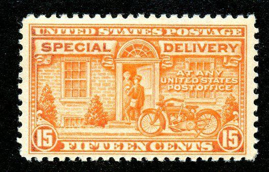 U.S. Scott E13 15-Cent Special Delivery FVF Unused