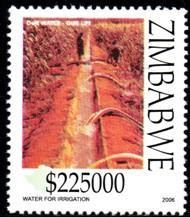 Zimbabwe - 2006 Water Conservation $225000 MNH**