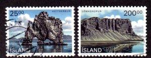 ICELAND 713-4 USED SCV $2.85 BIN $1.15 LANDSCAPES