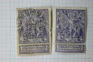 Belgium sc#79 used / mint SOTN cancel 1897 Malines Statton thin faults