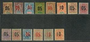 Fr. Guinea Sc#48//62 M/H/F-VF, 57 NG, Cv. $32.30