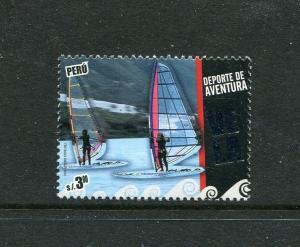 Peru 1747, MNH, Sailing sports Windsurfing 2010. x29612