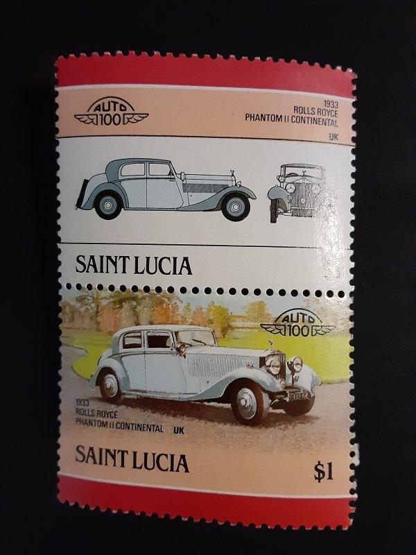 ^St. Lucia #853                MH