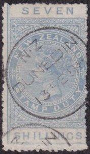 New Zealand 1882 SC AR8 Used