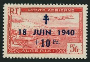Algeria CB2,MNH.Michel 279. 1948.General De Gaulle's speech,8th Ann.
