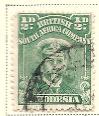Rhodesia # 119 (U) CV $2.50