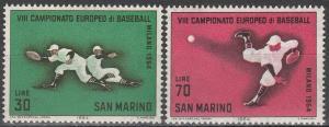San Marino #604-5  MNH VF  (V3709)