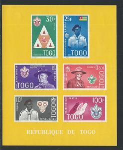 TOGO SC# 406a VF MNH 1961