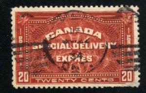 Canada #E4   u  VF smal scratch 1930 PD