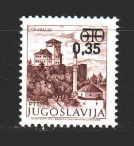 Yugoslavia. 1978. 1755 from the series. city ??grada?ac. MNH.