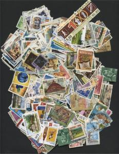 SRI LANKA, VERY NICE COLLECTION 400 DIFFERENT STAMPS