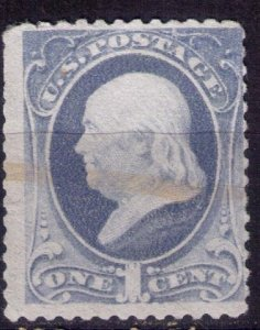 US Sc 145  Used VERY LIGHTLY CANCELLED FINE