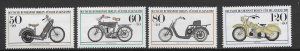 Berlin 9NB 198-201 1983  set  4  VF  NH