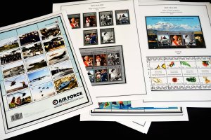 COLOR PRINTED NEW ZEALAND 2011-2013 STAMP ALBUM PAGES (44 illustrated pages)