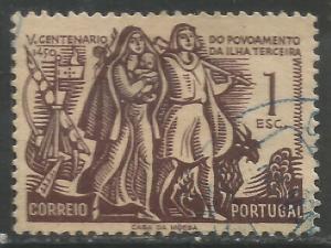 PORTUGAL 736 VFU E132-5