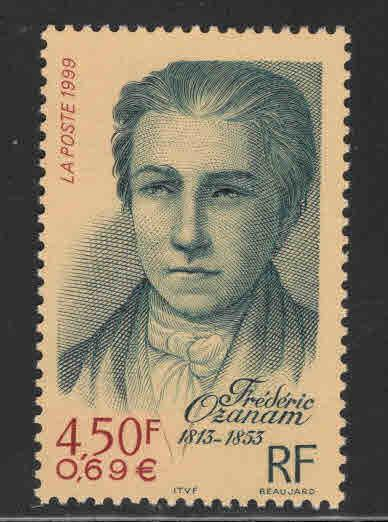 France Scott  2738 Frederic Ozanam stamp 1999