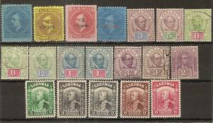 Sarawak 1875-1941 Mint & Used Selection Cat£130