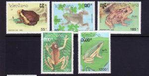 Laos Scott  1113-1117 MNH!