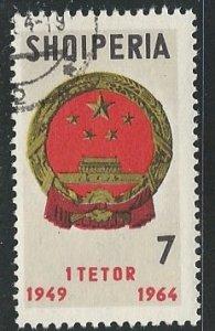Albania    Scott # 765 - Used