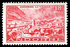 FRENCH ANDORRA 122  Mint (ID # 77318)