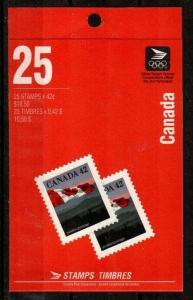 Canada Scott 1356c Mint NH booklet