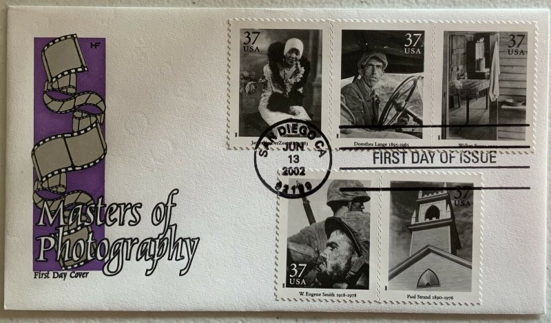 Farnum 3649 Masters of Photography Sheet of 20 on 4 Nice Covers
