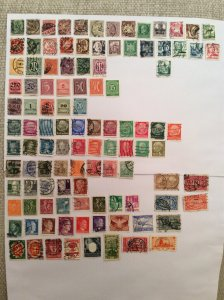 Early German 100+ stamps - Lot D