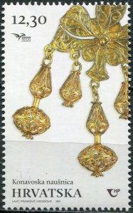 Croatia 2021. Handicraft Jewelry (MNH OG) Stamp