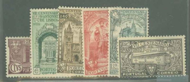 Portugal 528-533 Mint F-VF HR