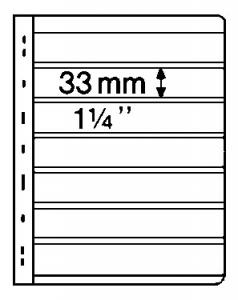 Stocksheets,  VARIO 7 Pocket, 2 side, BLACK(1 lot 5 in PKS) (V7S)