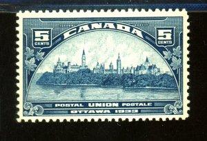 Canada #202 204 MINT F-VF OG NH Cat $ 37.00