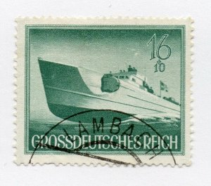 Germany 1943 Early Issue Fine Used 16pf. NW-100715