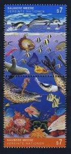 1992 UN Vienna 127-28Paar Sea fauna 2,50 €