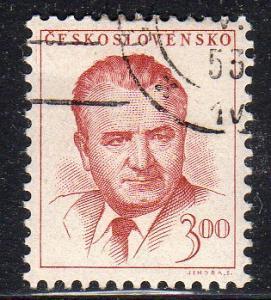 Czechoslovakia 603 - Used - Pres. Klement Gottwald (2)
