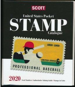 Scott 2020 United States Pocket Stamp Catalog / US Guide  Book  (TKCLOSEOUT-JG)