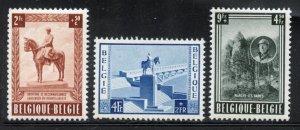 Belgium # B555-57, Mint Never Hinge. CV $ 70.00