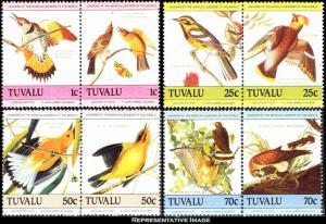 Tuvalu Scott 279-282 Mint never hinged.