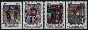 Central Africa C303-6 MNH Summer Olympic's Winners, Athletics