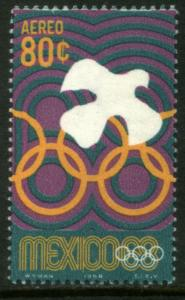 MEXICO C340, 80c 1968 Olympics, Mexico City. MINT NH. VF.