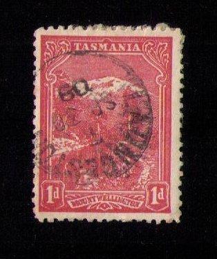 Tasmania Sc 87 Used Mount Wellington F-VF