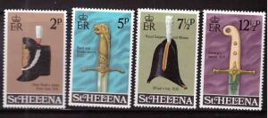 Saint Helena Scott 273-276 MH*  set
