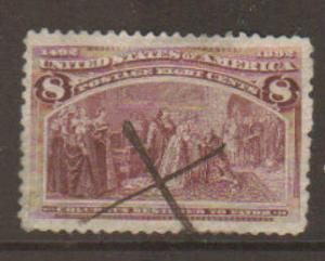 United States #236 Used