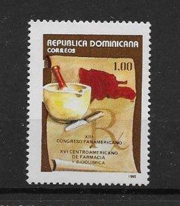 DOMINICAN REPUBLIC STAMP MNH #JULIO CV16