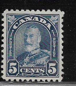 CANADA, 170, MINT HINGED, KING GEORGE V