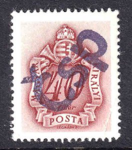 HUNGARY J164 CZECHOSLOVAKIA BOLD ČSP 1944 OVERPRINT OG NH U/M VF