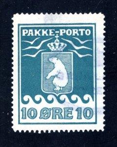 Greenland #Q4,  F/VF, Used,   CV $60.00 ....2510083