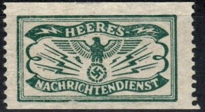 Germany Army Intelligence Document Stamp  (X6902)