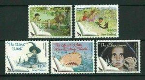 2013  NEW ZEALAND  SG: 3435/39 MARGARET MAHY -  SET UNMOUNTED MINT