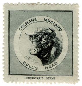 (I.B) Cinderella Collection : Colmans of Norwich (Bull's Head)