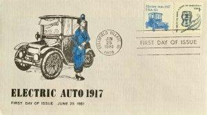 1900 Electric Auto Transportation Coil Greenfield Village Michigan